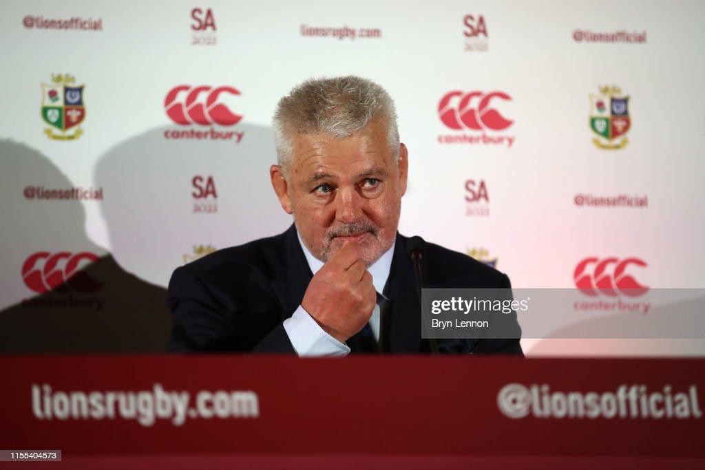 British and Irish Lions Head Coach Announcement : Foto di attualità