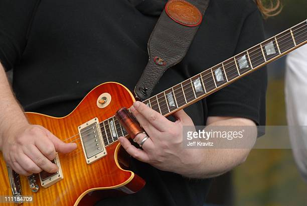 Warren Haynes during 37th Annual New Orleans Jazz Heritage Festival Presented by Shell Warren Haynes at New Orleans Fair Grounds Race Course in New...