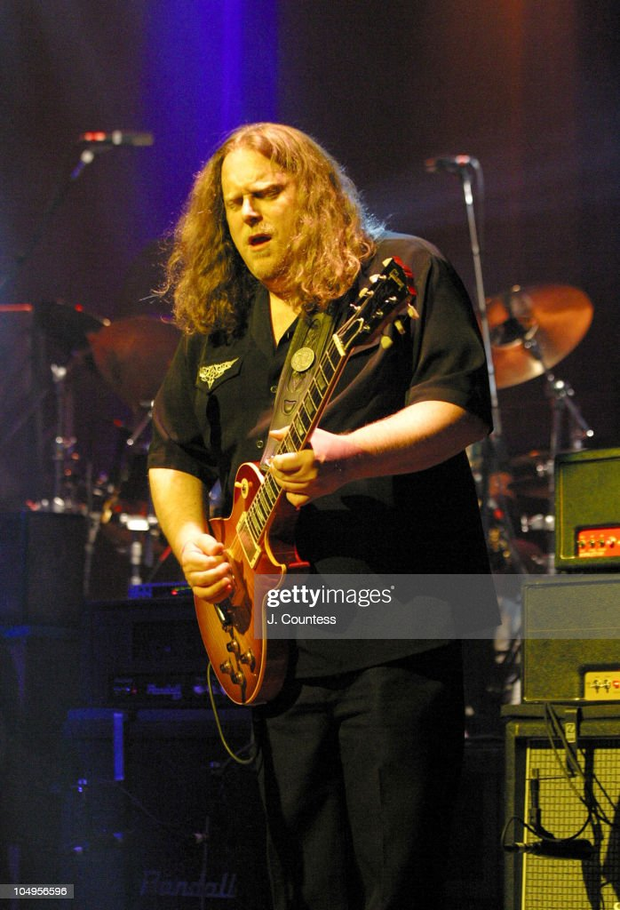 Warren Haynes during The Allman Brothers Band Live at the Beacon Theater, New York City at Beacon Theater in New York City, New York, United States.