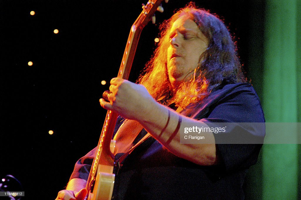 Warren Haynes of the Allman Brothers and Gov't Mule