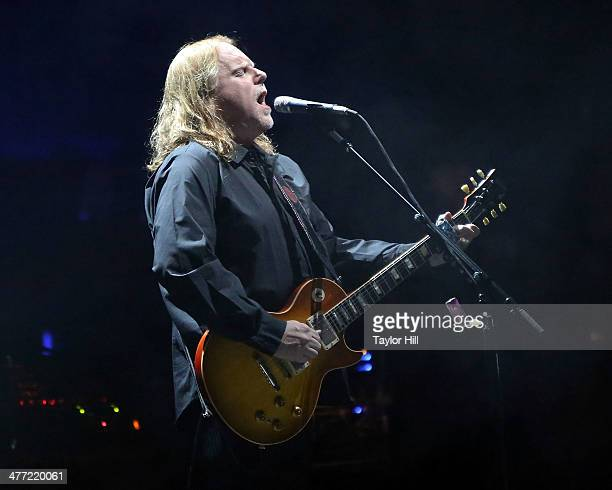 Warren Haynes of The Allman Brothers Band performs at Beacon Theatre on March 7 2014 in New York City