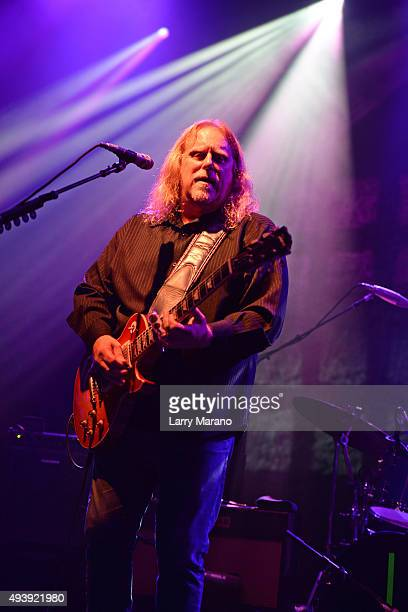 Warren Haynes performs at The Fillmore on October 22 2015 in Miami Beach Florida