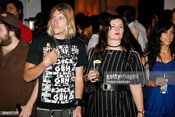 Warren Hode and Jennifer Nicholson attend RICHARD KIDD Presents BOILING DOWN THE 80's Opening Reception at Dactyl on July 19 2007 in New York City