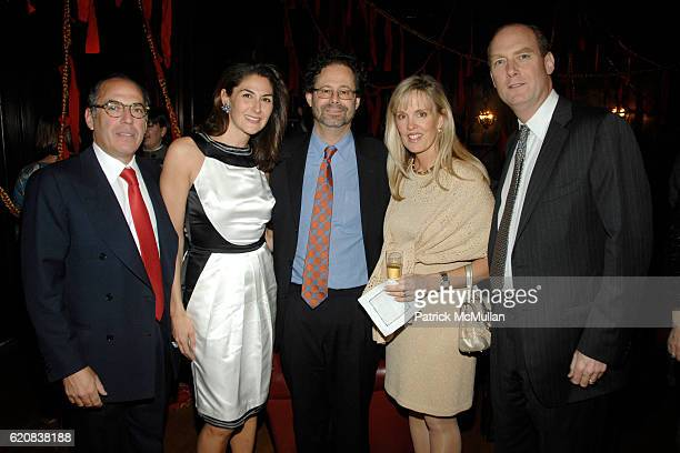 Warren Kanders Allison Kanders Adam Weinberg Debbie Stevenson and Jeffrey Stevenson attend 2008 WHITNEY Biennial Dinner Celebration hosted by GRAFF...