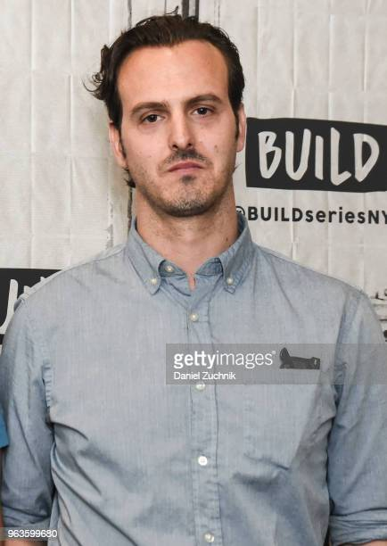 Warren Lipka attends the Build Series to discuss the new film 'American Animals' at Build Studio on May 29 2018 in New York City