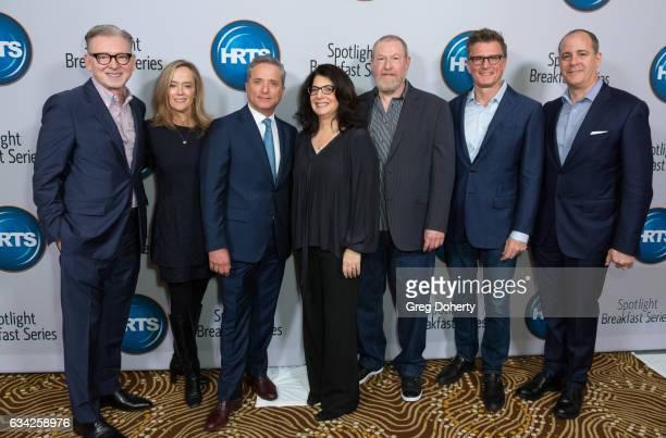 Warren Littlefield Karey Burke Rick Rosen Robin Schwartz Preston Beckman Kevin Reilly and David Nevins attend The Hollywood Radio And Television...
