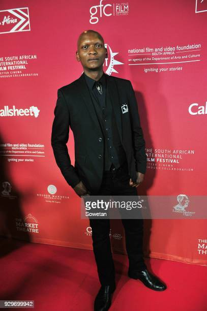 Warren Masemola during Five Fingers for Marseilles movie premiere at the Market Theatre on March 08 2018 in Johannesburg South Africa After its world...