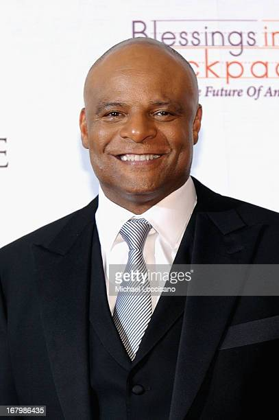 Warren Moon attends the Unbridled Eve Gala for the 139th Kentucky Derby at The Galt House Hotel Suites' Grand Ballroom on May 3 2013 in Louisville...