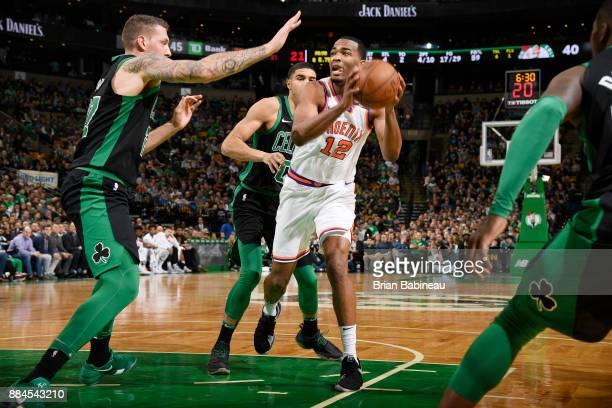 Warren of the Phoenix Suns handles the ball against the Boston Celtics on December 2 2017 at the TD Garden in Boston Massachusetts NOTE TO USER User...