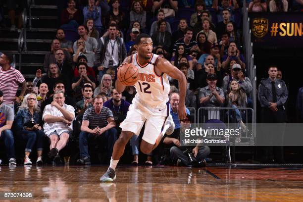 Warren of the Phoenix Suns handles the ball against the Minnesota Timberwolves on November 11 2017 at Talking Stick Resort Arena in Phoenix Arizona...