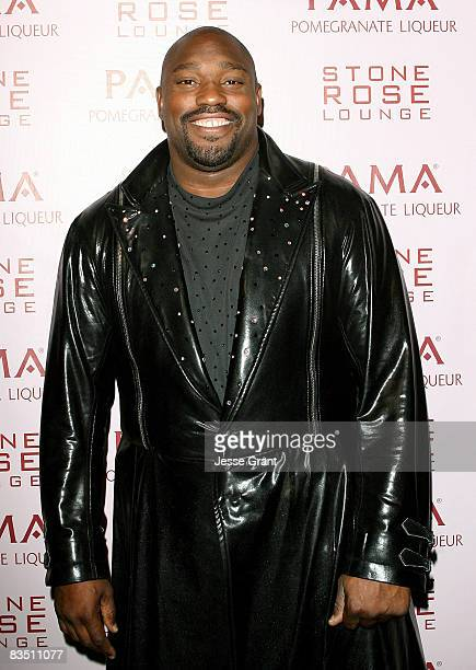 Warren Sapp attends Kim Kardashian's Halloween party hosted by PAMA at Stone Rose on October 30, 2008 in Los Angeles, California.