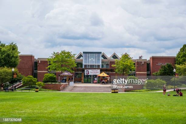 warren student services center at bloomsburg university - brycia james stock pictures, royalty-free photos & images