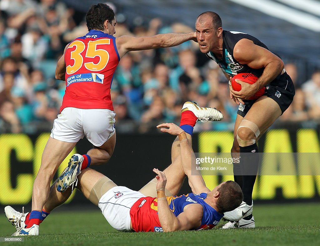 AFL Rd 3 - Power v Lions