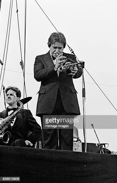Warren Vache and Scott Hamilton Capital Jazz Festival Knebworth 1982 Artist Brian O'Connor
