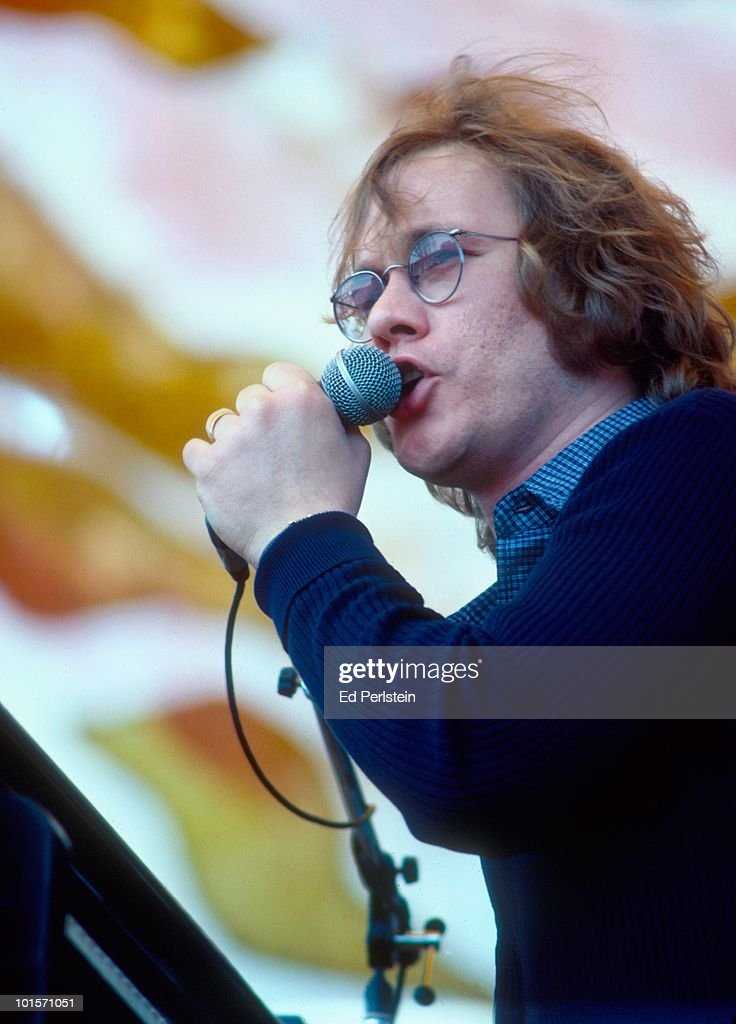 Warren Zevon performs at Campus Stadium at the University of California in Santa Barbara, California on June 4, 1978.