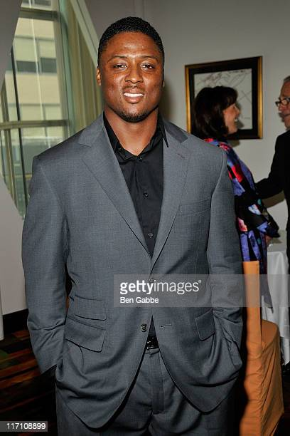 Warrick Dunn attends the 2011 Jefferson Awards for Public Service at Le Cirque on June 22 2011 in New York City