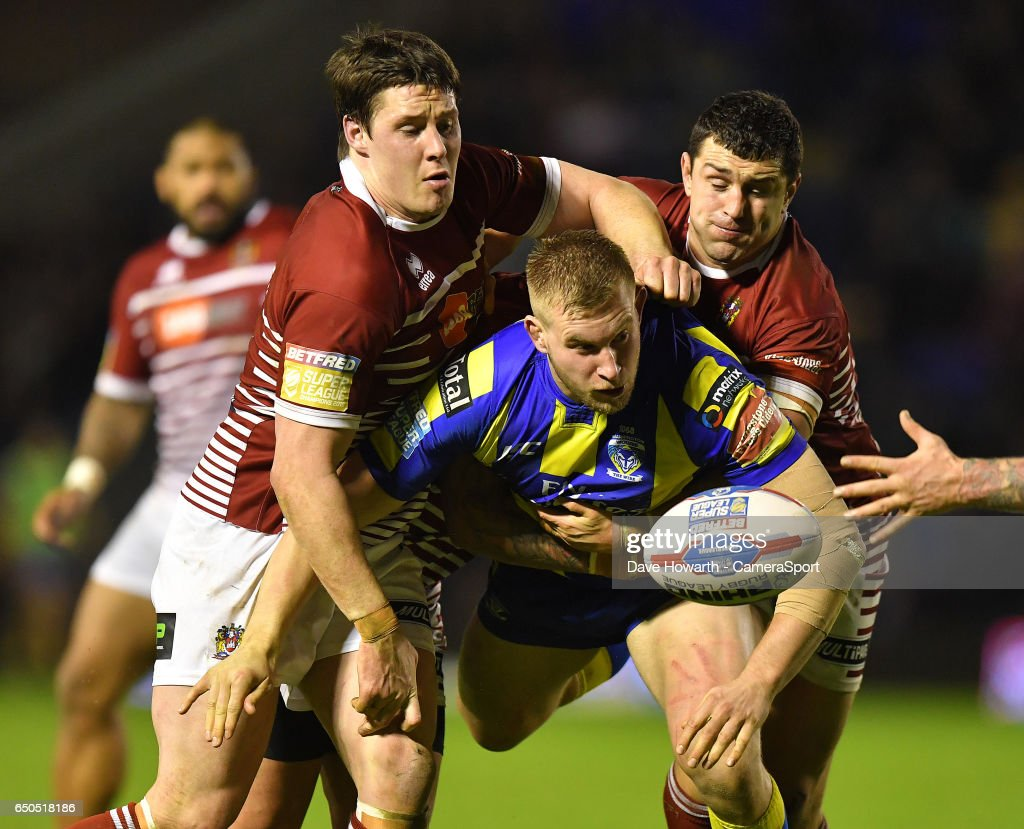 Warrington Wolves vs Wigan Warriors - Betfred Super League