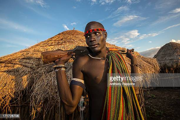 CONTENT] Warrior boy of the Mursi tribe in the mursi village in the mago national park the Mursi tribe They are nomadic cattle herders live in the...