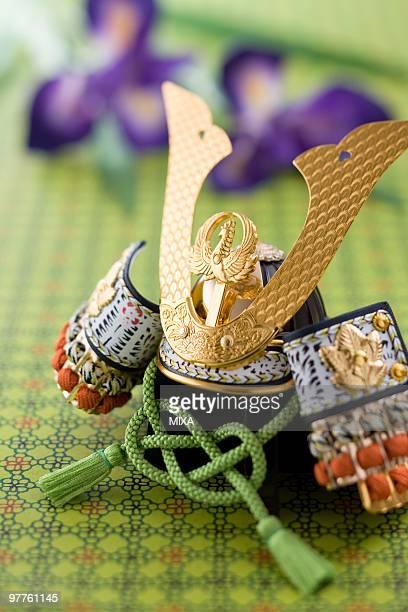 warrior helmet's ornament - kindertag stock-fotos und bilder