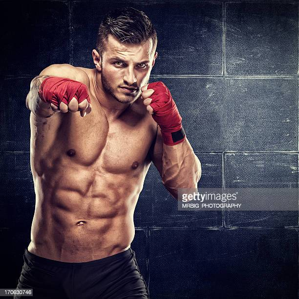 warrior - mixed martial arts stockfoto's en -beelden