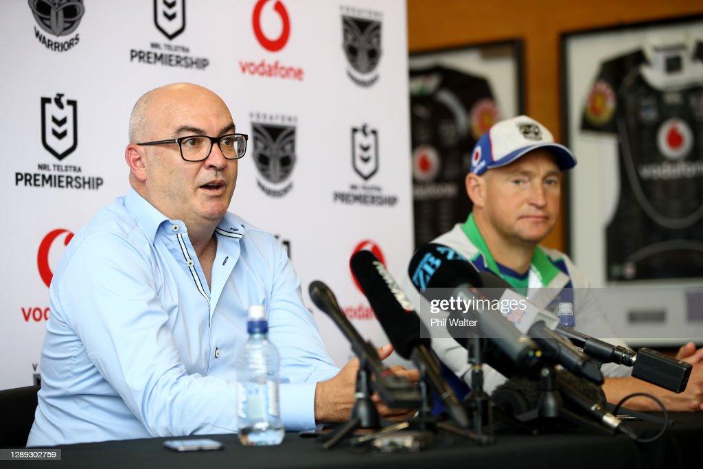 New Zealand Warriors Media Opportunity : News Photo