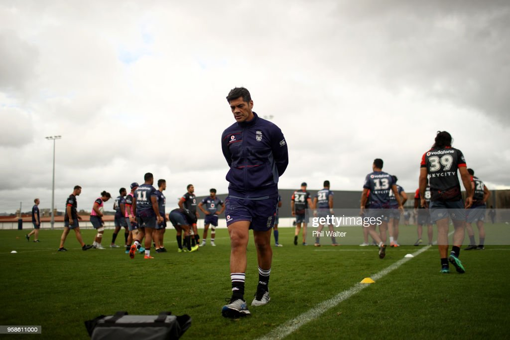 New Zealand Warriors Training Session