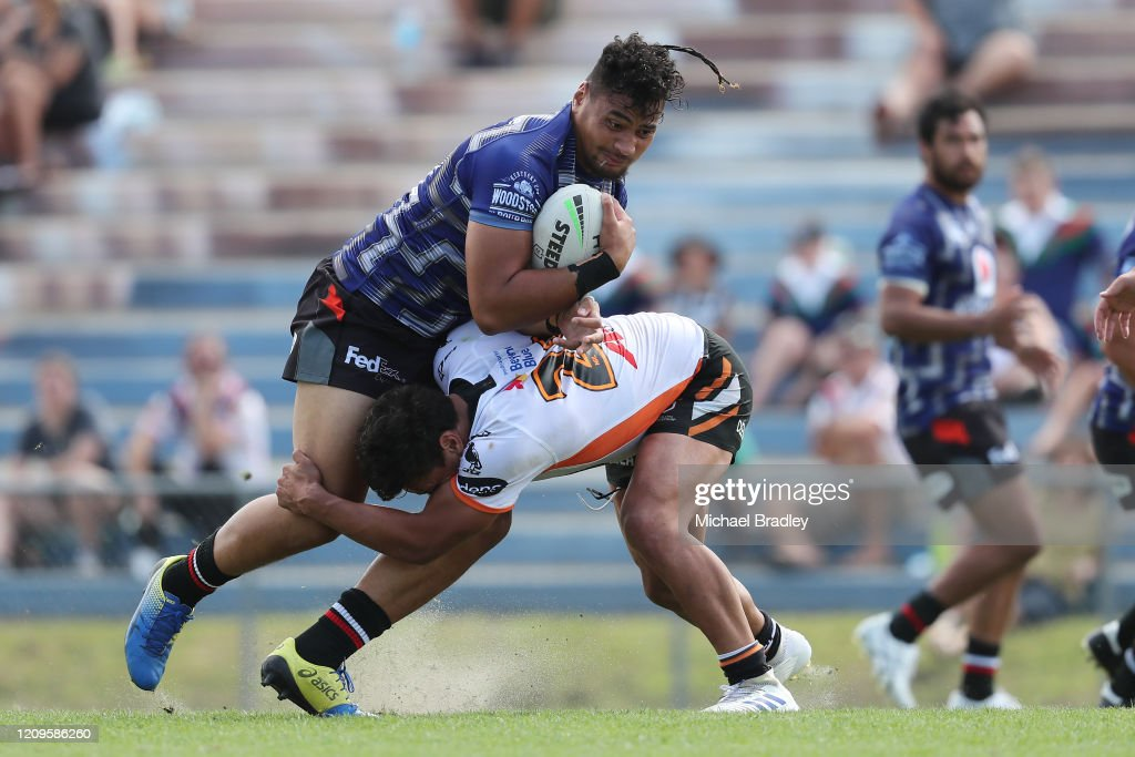 NRL Trial - Warriors v Wests Tigers : News Photo