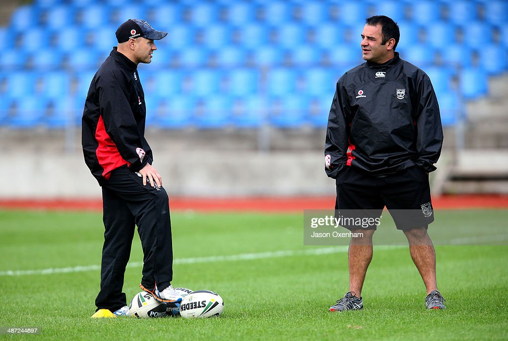 New Zealand Warriors Training Session