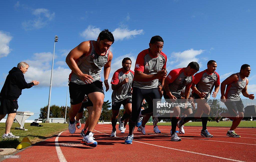 Warriors NRL Training Session