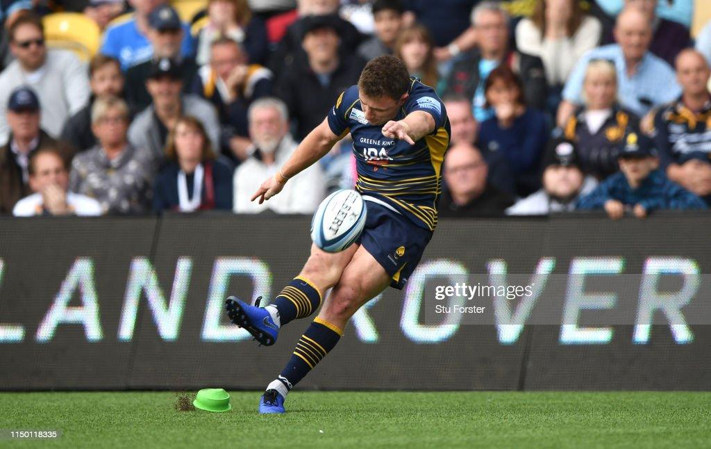 Worcester Warriors v Saracens - Gallagher Premiership Rugby : News Photo