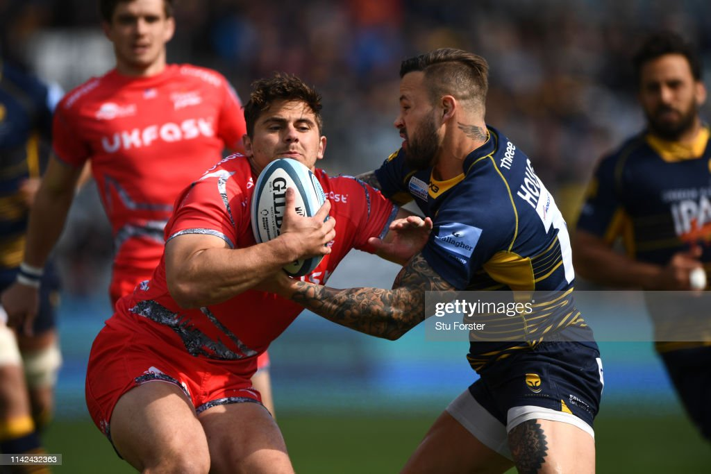 Worcester Warriors v Sale Sharks - Gallagher Premiership Rugby : News Photo