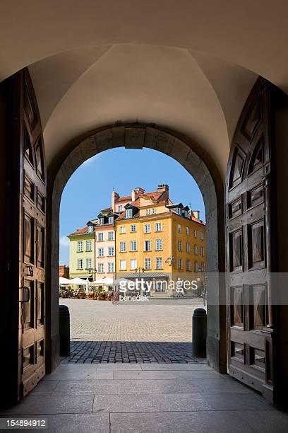 Varsovie, Château Square