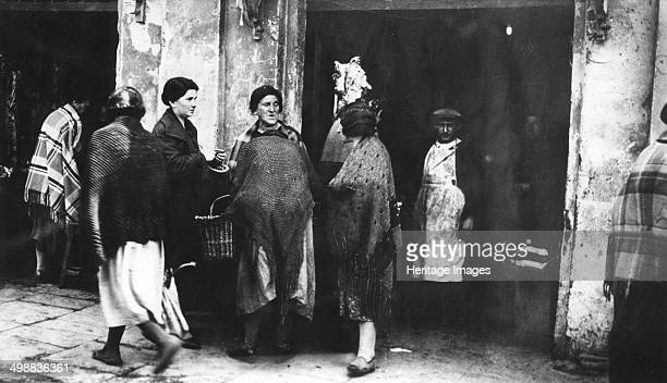 Warsaw Ghetto Poland World War II 19401945 In 1940 Nazi Germany isolated Warsaw's Jews in a ghetto In 1942 about 500000 people were living a...