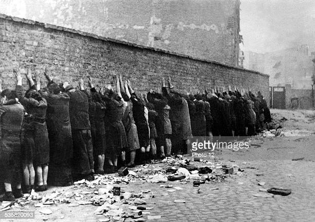 the 'Great Action' roundup September 1943 Poland Second World War war Centre de documentation juive