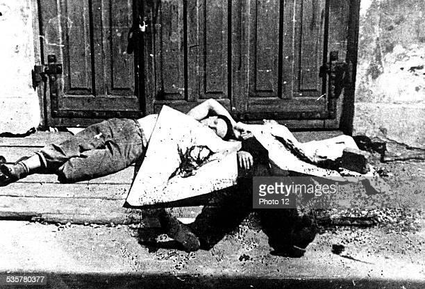 Victims of the 'Great Action' AprilMay 1943 Poland Second World War war Centre de documentation juive