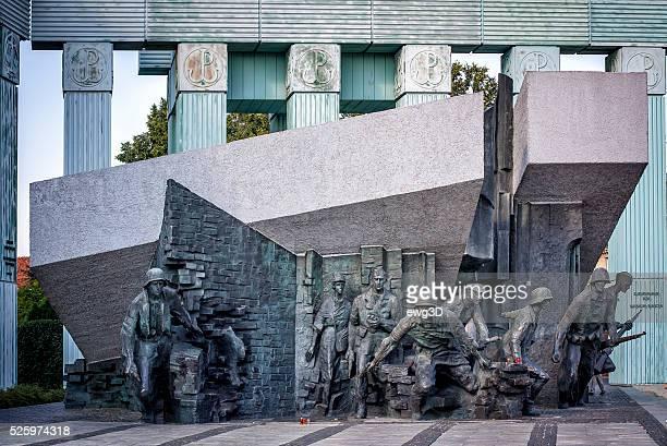 Warsaw Insurrection monument, Poland
