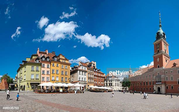 ワルシャワ旧市街のパノラマに広がる - ワルシャワ ストックフォトと画像