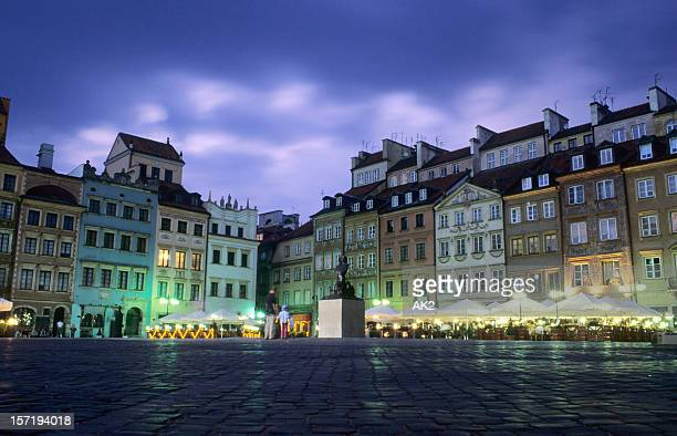 Warsaw - Old town square
