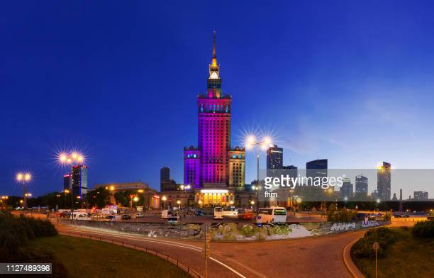 Warsaw - Palace of Culture and Science (Warsaw, Poland)
