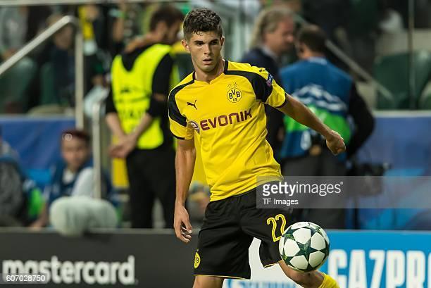 Warsaw Poland UEFA Champions League 2016/17 Season Group F Matchday 1 Legia Warschau BV Borussia Dortmund Christian Pulisic