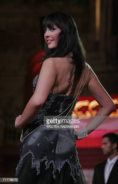 Miss Scotland Nicola McLean participates in the opening gala of the Miss World competition in Warsaw 03 September 2006 More than one hundred...