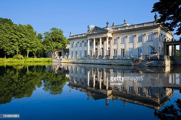 warsaw, poland - palace stock pictures, royalty-free photos & images