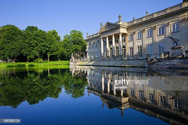 varsóvia, polónia - palácio imagens e fotografias de stock