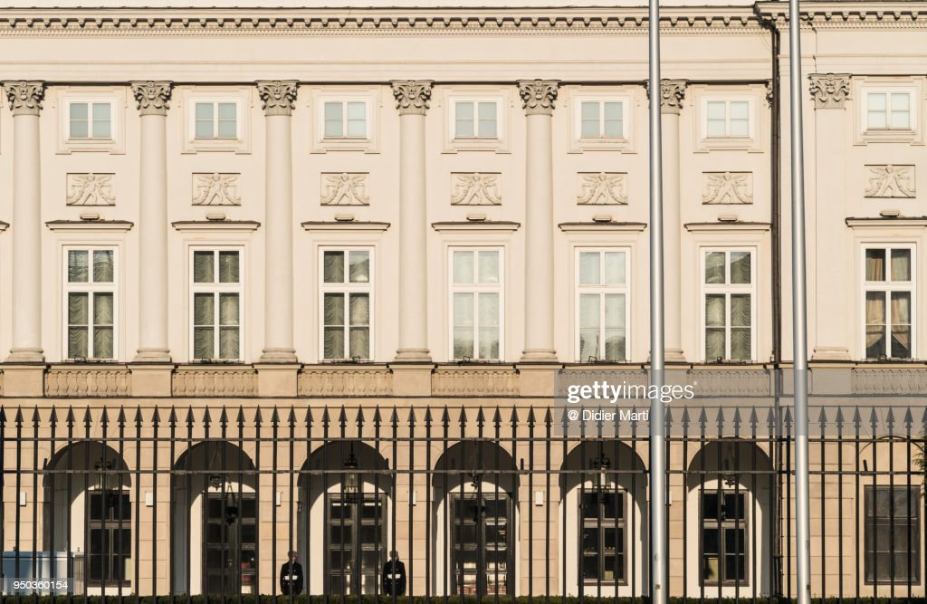 Warsaw Presidential Palace in Poland : Stock Photo