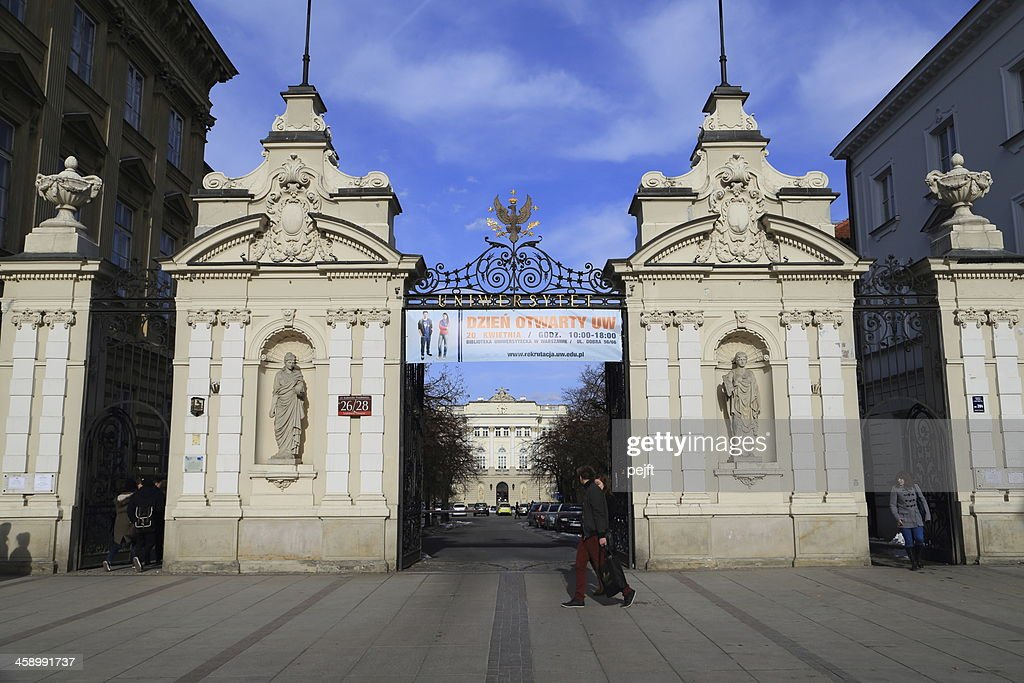 Warsaw the University : Stock Photo