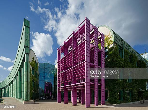 warsaw university library - warsaw stock pictures, royalty-free photos & images