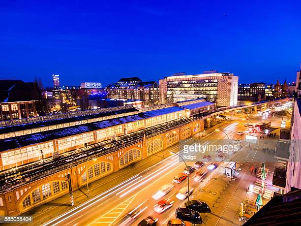 ベルリンのワルシャワ通り - フリードリッヒハイン ストックフォトと画像