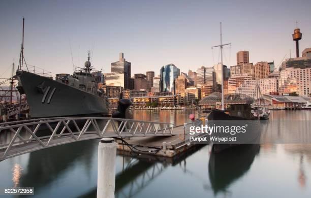 Warships, Australian National Maritime Museum, Darling Harbour, Sydney