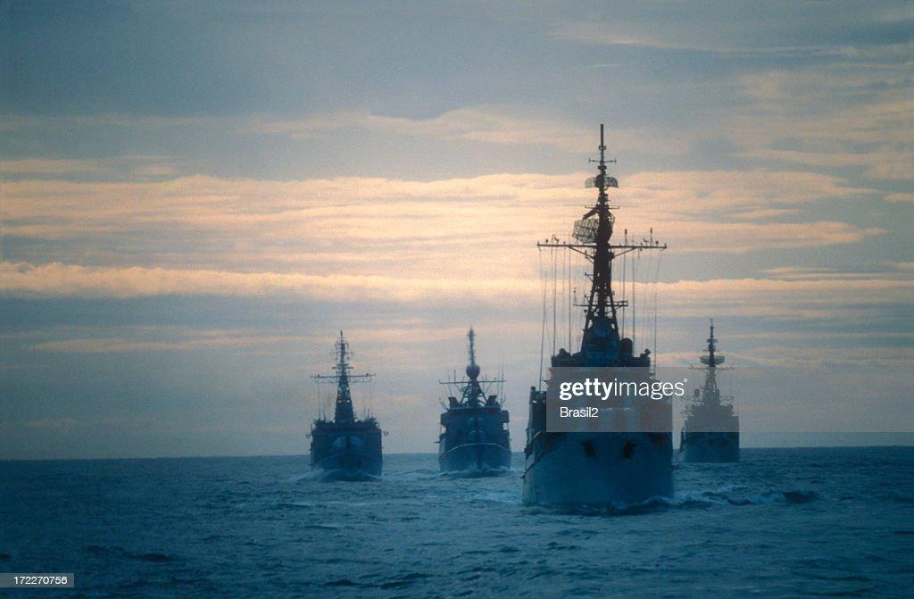Warships : Stock Photo