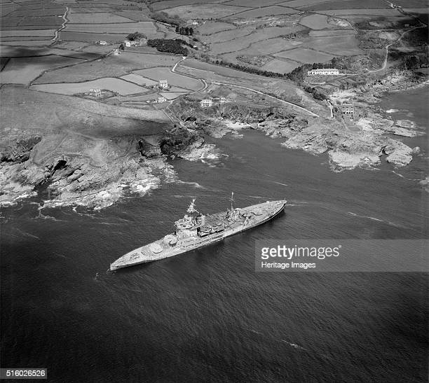 HMS 'Warspite' Prussia Cove Cornwall 'Warspite' was launched in 1913 and saw action with the Royal Navy at the Battle of Jutland in 1916 During the...